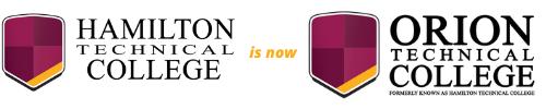 Hamilton Tech has become Orion Technical College